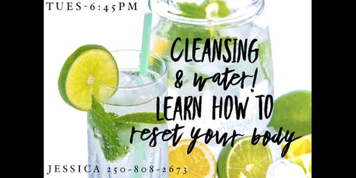 Healthy Results with Cleansing & Hydration
