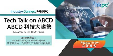 Tech Talk on ABCD tickets