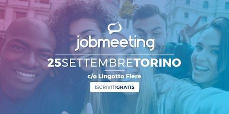 Prova Job Meeting Torino biglietti