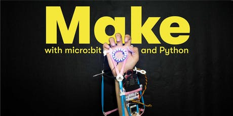 Make with micro:bit & Python, [Ages 11-14], 9 Sep - 13 Sep Holiday Camp (2:00PM) @ East Coast tickets