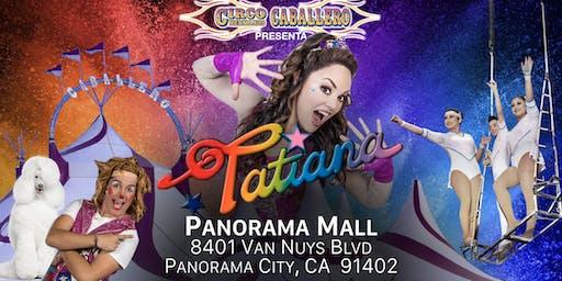 Tatiana - Circo Hermanos Caballero - Circus - Panorama City
