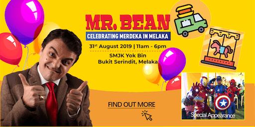 Mr. Bean - Celebrating Merdeka in Melaka