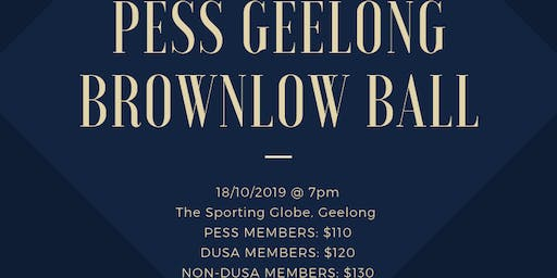PESS Geelong Brownlow Ball