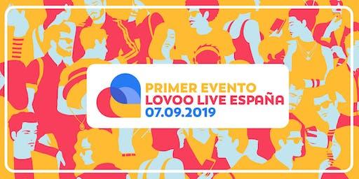 Primer Evento LOVOO LIVE España