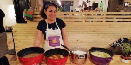 Ecuadorean cookery class with Leonor (Pescatarian) tickets