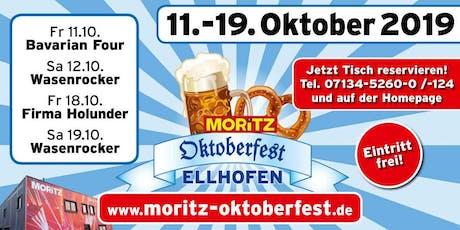 MORITZ Oktoberfest Tickets