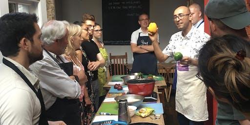 Afghan cookery class with Hadi (Vegetarian)
