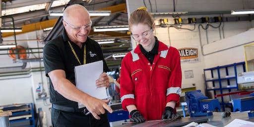 Engineering Apprenticeship Sign-Up Days - Warwick Trident College