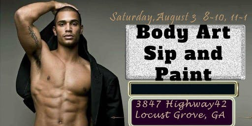 Body Art Sip and Paint