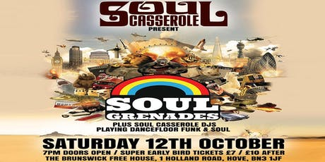 The Soul Grenades Casserole tickets