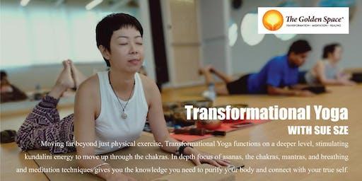 Transformational Yoga with Sue Sze