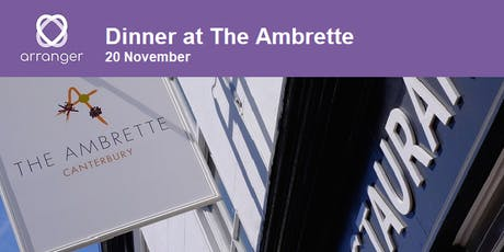 Dinner for Funeral Directors in Canterbury hosted by Arranger Software tickets