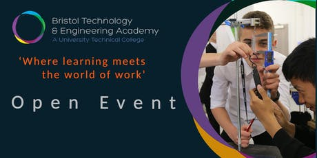 Bristol Technology and Engineering Academy - Open Event tickets