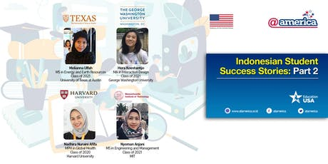Indonesian Student Success Stories: Part 2 tickets