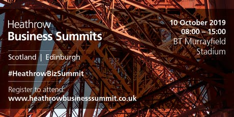 Scotland Heathrow Business Summit 2019 tickets