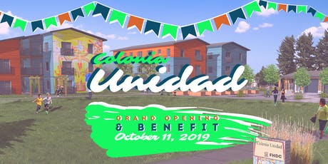 Colonia Unidad Benefit & Grand Opening tickets