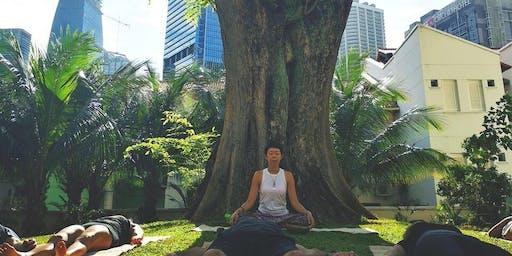 Outdoor Transformational Yoga @ 28 Duxton Hill