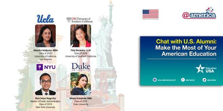 Chat with U.S. Alumni: Make the Most of Your American Education tickets