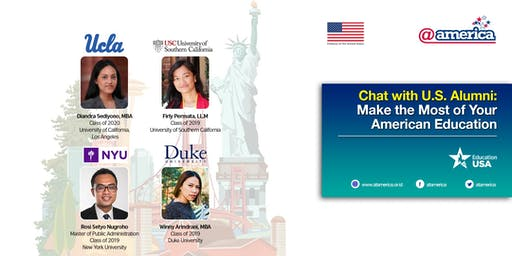 Chat with U.S. Alumni: Make the Most of Your American Education