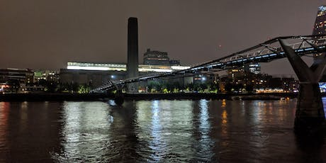FREE WALK - 3 miles along the Thames viewing the Illuminated River Project tickets