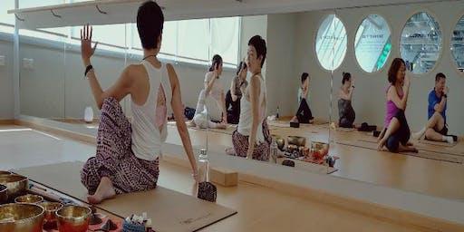 Aroma Yoga Nidra with Tibetan Sound Bowls (Monthly)
