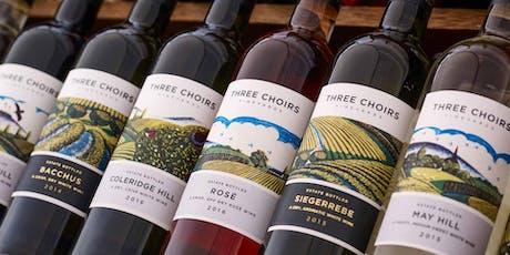 Three Choirs Wine Dinner tickets