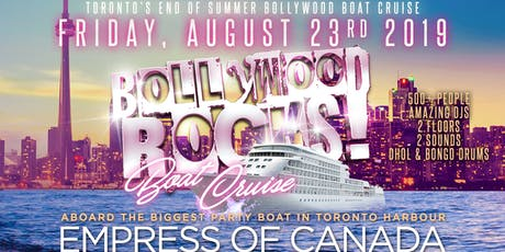 BOLLYWOOD ROCKS: BOAT CRUISE tickets
