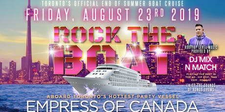 ROCK THE BOAT: ROOFTOP PARTY tickets