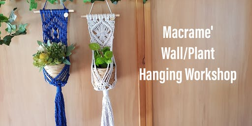 Lattitude Village Wall/Plant Hanging Workshop
