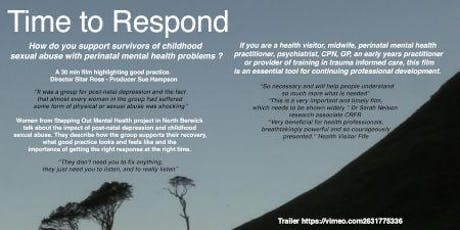 """Time To Respond"" Documentary Film Screening tickets"