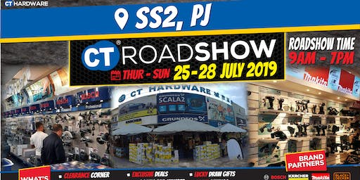 CT Hardware Roadshow @SS2 - Tools & Machinery for Pro