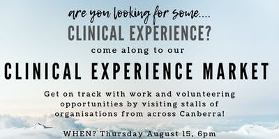 Clinical Experience Market!