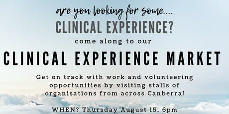 Clinical Experience Market! tickets
