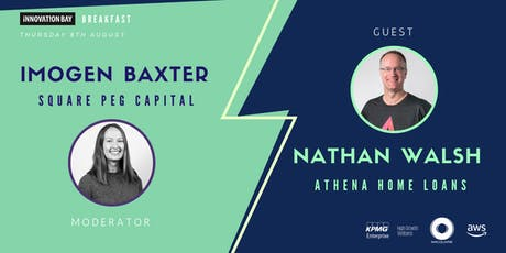Breakfast: Imogen Baxter (Square Peg Capital) and Nathan Walsh (Athena Home Loans) tickets