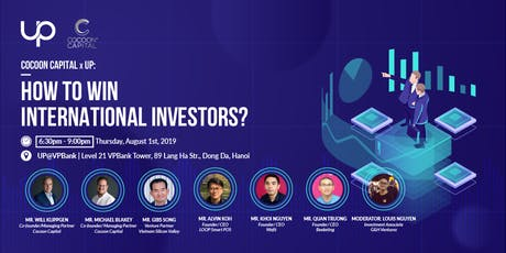 Cocoon Capital x UP: How to win International Investors tickets