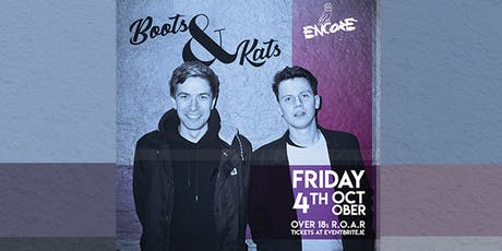 BOOTS & KATS tickets