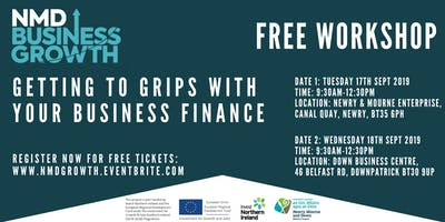Getting to Grips with your Business Finance - Free Workshop in Downpatrick