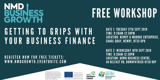Getting to Grips with your Business Finance - Free Workshop in Newry