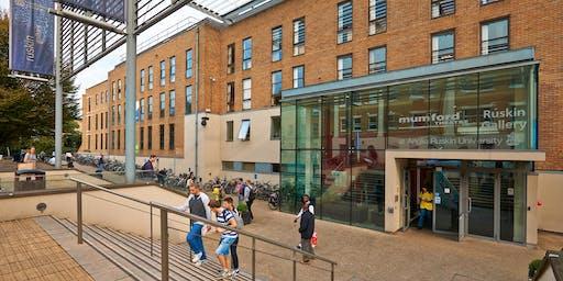 Anglia Ruskin University Postgraduate Statistical Summer School