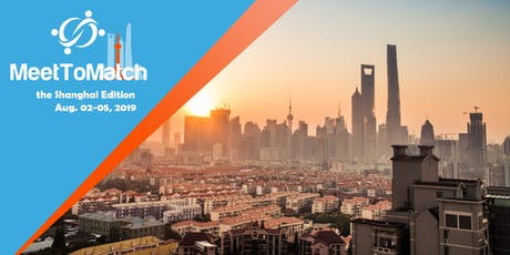 MeetToMatch - The Shanghai Edition 2019 (Chinajoy) tickets