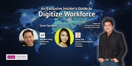 Digitize Workforce with SkillsFuture Funding tickets