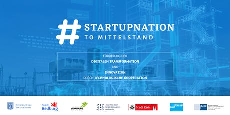 #STARTUPNATION TO MITTELSTAND Programm KickOff Tickets