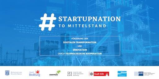 #STARTUPNATION TO MITTELSTAND Programm KickOff