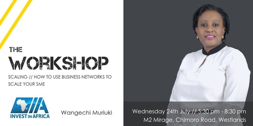 Workshop//How to use business networks to scale your SME