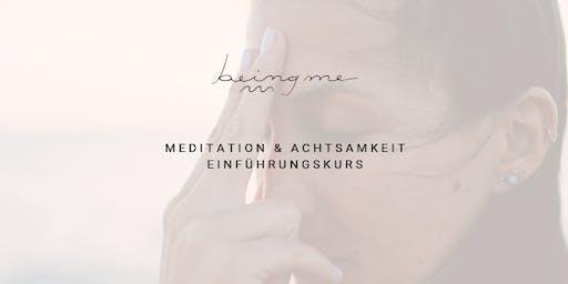 Meditation & Achtsamkeit Einführungskurs