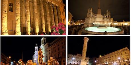 La Roma Rinascimentale e Barocca illuminata di notte biglietti
