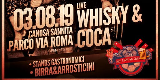 DOGS IN ROCK - Whisky & Coca live