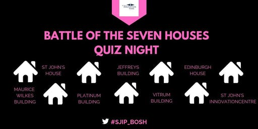 QUIZ NIGHT: Battle of the Seven Houses
