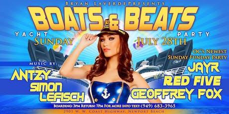 Boats & Beats Yacht Party (Newport Beach). 21+ tickets