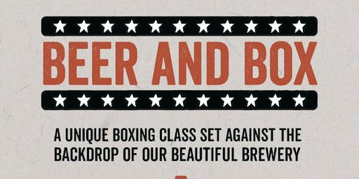 Beer and Box at Seven Bro7hers Taproom